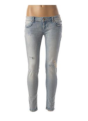 Jeans skinny bleu FRACOMINA pour femme