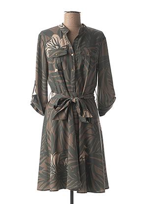 Robe mi-longue vert FRACOMINA pour femme