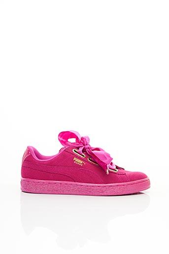 Baskets rose PUMA pour femme