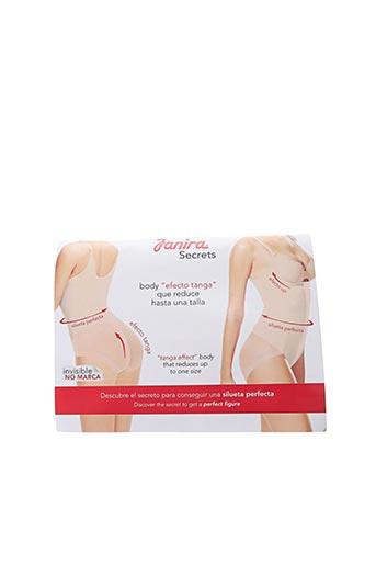 Body lingerie beige JANIRA pour femme