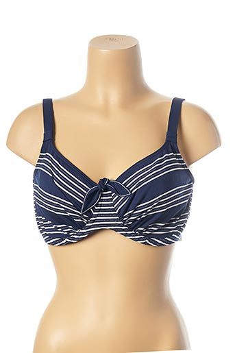 Haut de maillot de bain bleu PRIMA DONNA pour femme
