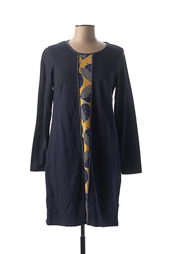 Robe courte bleu MALOKA pour femme