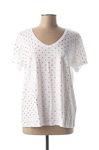 T-shirt manches courtes blanc KATMAI pour femme