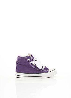 Baskets violet MAPLEAF pour enfant