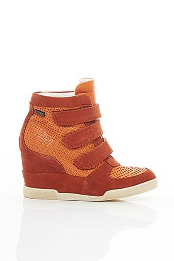 Baskets orange BEE.FLY pour femme