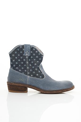 Bottines/Boots bleu IKKS pour femme