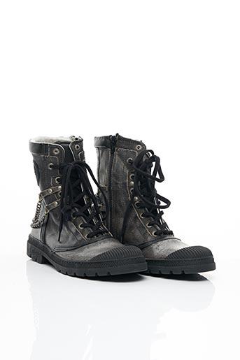 Bottines/Boots noir PATAUGAS pour femme