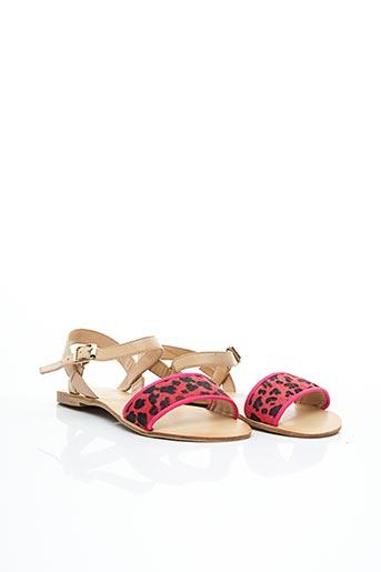Sandales/Nu pieds rose CHOCOLATE SCHUBAR pour femme