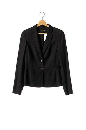 Veste chic / Blazer noir ESCADA pour femme