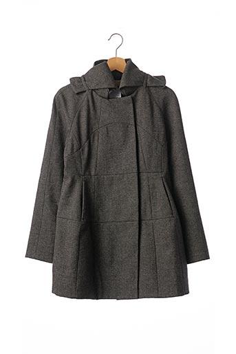 Manteau court gris VALENTINO pour femme