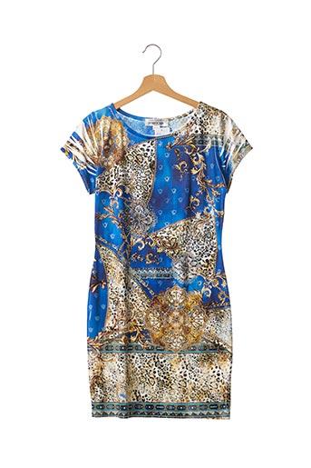 Robe courte bleu ATELIER PROVOCATEUR FOR BOHOCHIC pour femme