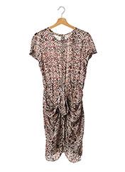 Robe mi-longue beige ISABEL MARANT pour femme seconde vue