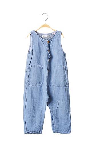 Combi-pantalon bleu ZARA pour garçon