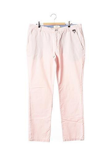 Pantalon casual rose ELEVEN PARIS pour femme