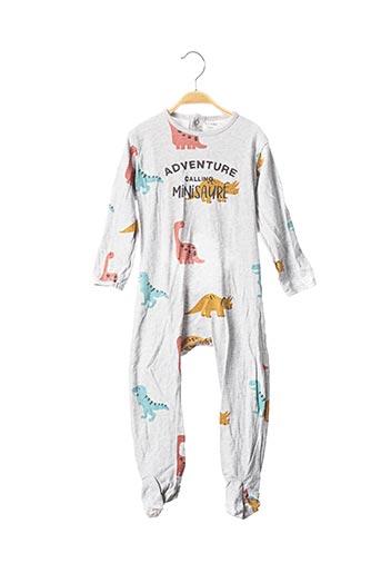 Pyjama gris KIABI pour garçon