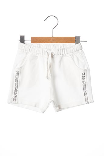 Short blanc ZARA pour garçon