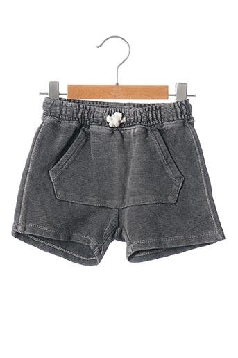 Short gris ZARA pour garçon