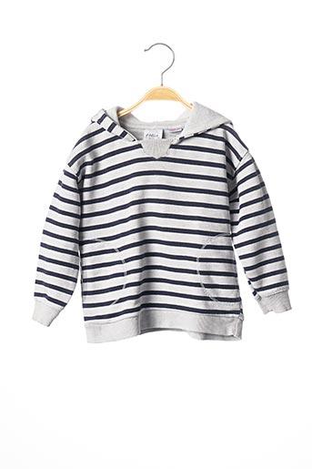 Sweat-shirt gris ZARA pour garçon