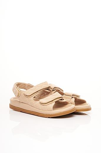 Sandales/Nu pieds beige CLAROSA pour femme