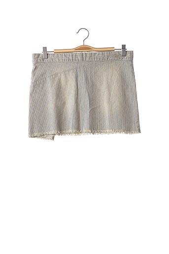 Mini-jupe bleu ZADIG & VOLTAIRE pour femme