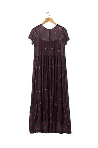 Robe longue rouge CHIARA B. pour femme