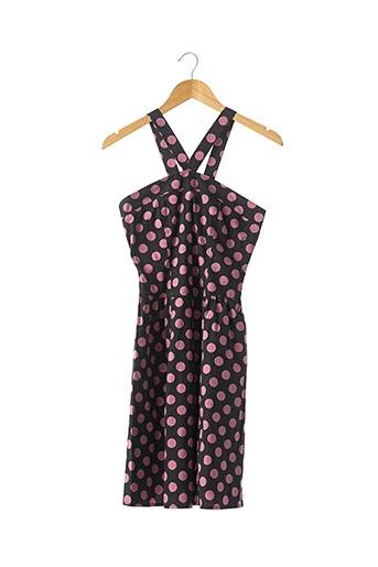 Robe mi-longue noir FORNARINA pour femme