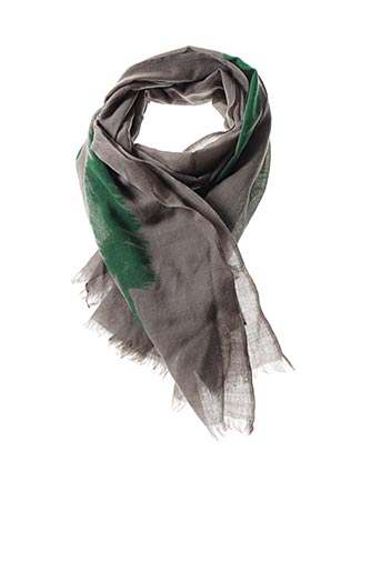 Foulard vert BRONTIBAY pour femme