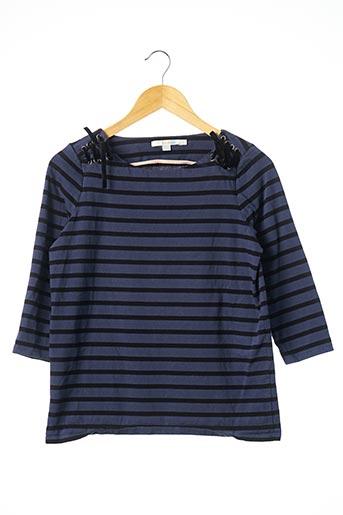 T-shirt manches longues bleu BODEN pour femme