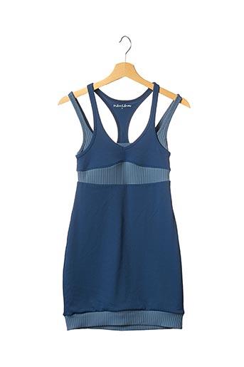 Robe courte bleu FOR LOVE & LEMONS pour femme