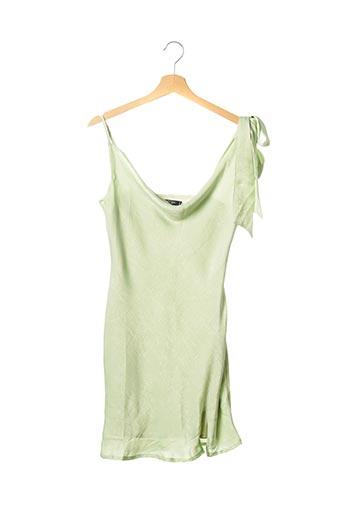 Robe mi-longue vert NASTY GAL pour femme