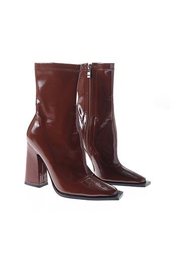 Bottines/Boots marron RAID pour femme