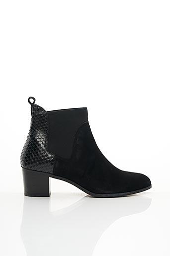 Bottines/Boots noir DUNE LONDON pour femme