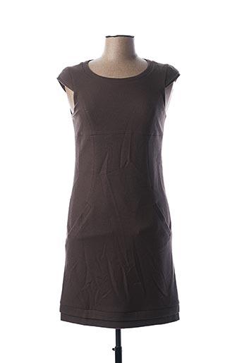 Robe courte marron TEENFLO pour femme