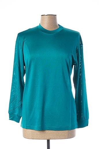 T-shirt manches courtes bleu EQUIPMENT pour femme