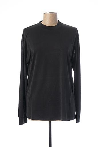 T-shirt manches courtes noir EQUIPMENT pour femme