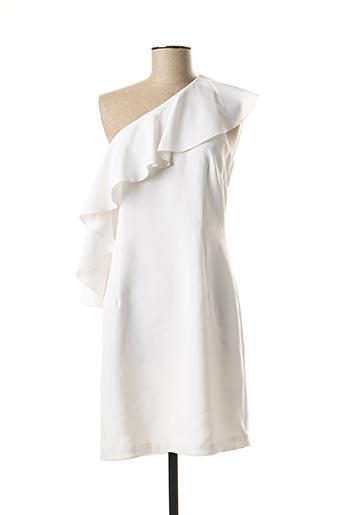 Robe mi-longue blanc MARCIANO pour femme