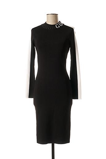 Robe pull noir GUESS pour femme