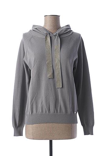 Sweat-shirt gris GUESS pour femme