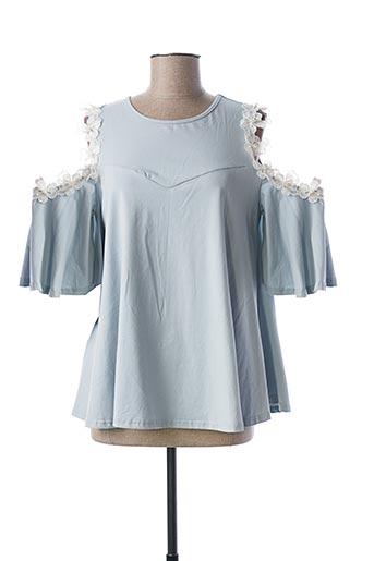 Top bleu MOLLY BRACKEN pour femme