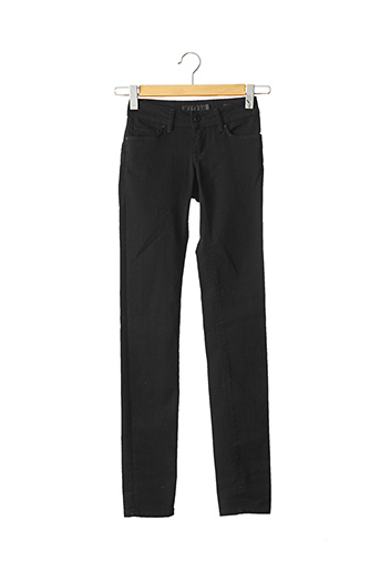 Jeans coupe slim noir SALSA pour femme