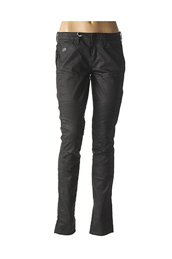 Pantalon casual noir G STAR pour femme