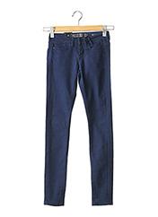 Pantalon casual bleu GUESS pour femme seconde vue