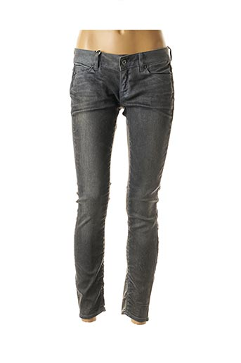 Jeans skinny gris G STAR pour femme