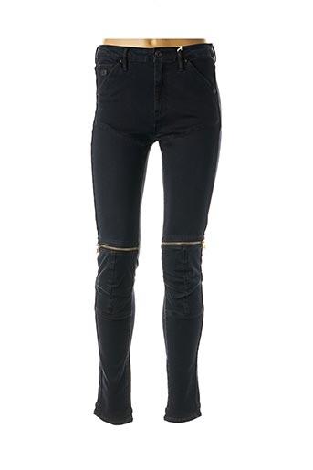 Pantalon casual bleu G STAR pour femme