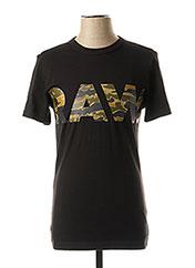 T-shirt manches courtes noir G STAR pour garçon seconde vue