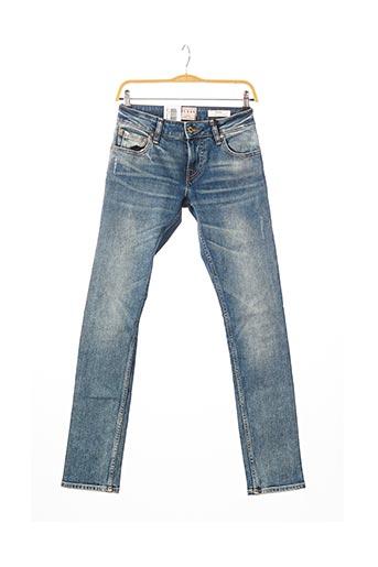 Jeans skinny bleu GUESS pour homme
