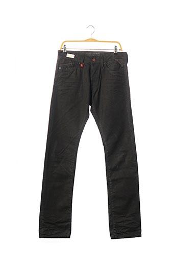 Pantalon casual noir REPLAY pour homme