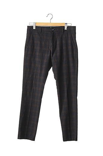 Pantalon chic marron GUESS pour homme