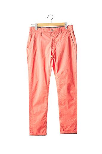 Pantalon chic orange SALSA pour homme