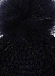 Bonnet bleu OAKWOOD pour femme seconde vue